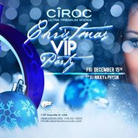 Ciroc Christmas Party
