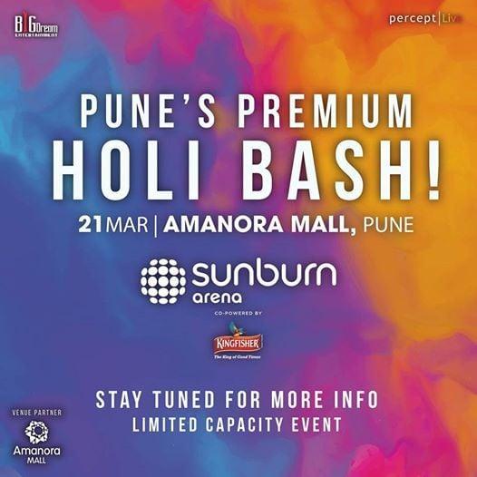Sunburn Arena (Holi) - Pune