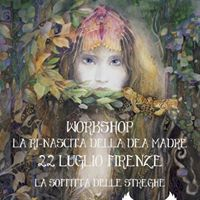 WorkShop-La Rinascita della Dea Madre