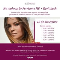 No makeup by Perricone MD  Revitalash
