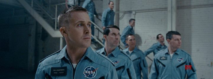 First Man in Cinema Roma