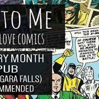 Talk Nerdy to me Comedy hosted by Drew Hayes