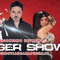 Christian Carapezza on tour &quotDanger Show 2017&quot