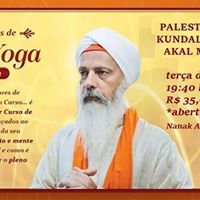 Palestra e Aulo de Kundalini Yoga c Akal Muret Singh