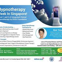 Hypnotherapy Week (EKAA L1 &amp L2)