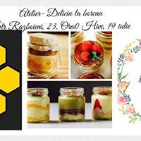 Deliciu la Borcan- Workshop Culinar cu Nora Maroiu