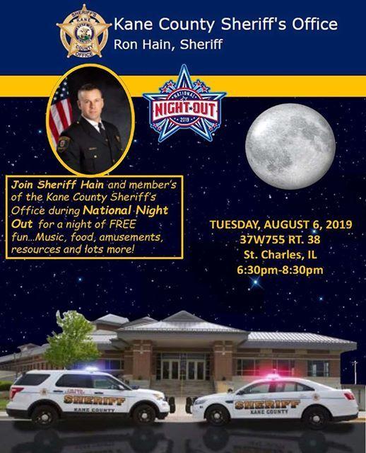 Kane County Sheriffs National Night Out 2019 | Geneva