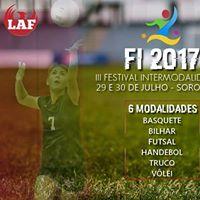 Festival Intermodalidades - Delegao Sorocaba