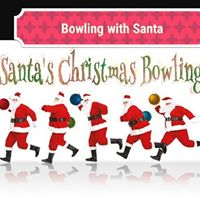 Bowling Brunch with Santa