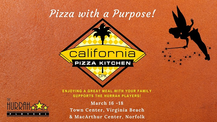 Pizza with a Purpose ~ March 16 - 18 at California Pizza Kitchen ...