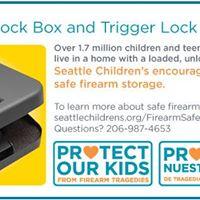 Safe Firearm Storage Giveaway Event