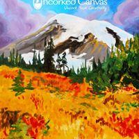 Fall Rainier Paint &amp Sip