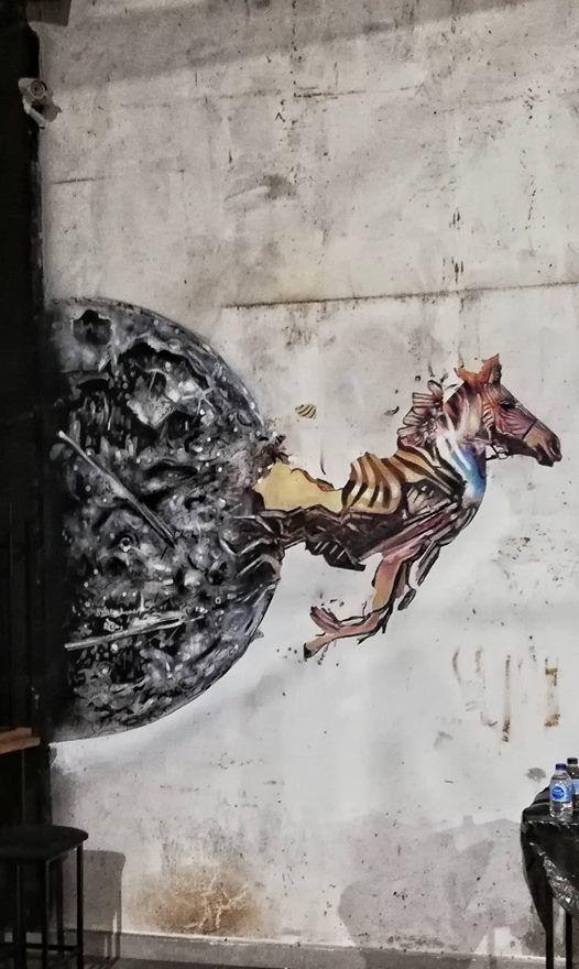 Nicosia Street Art bike ride