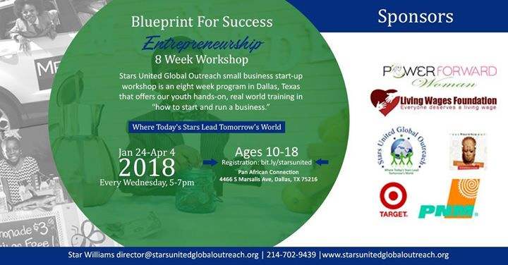 Blueprint for success at pan african connection dallas blueprint for success malvernweather Image collections
