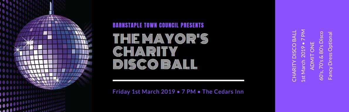 The Mayors Charity Disco Ball