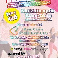 Dancefest for Rape Crisis North East CLG - Zumba Piloxing Konga