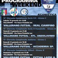 Programma weekend Campionato FIGC