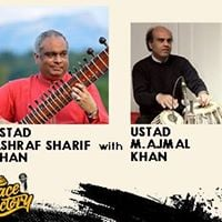 Ustad Ashraf Sharif Khan and Ustad Ajmal Khan live in Concert