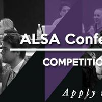 ALSA Conference 2017 Competition Applications