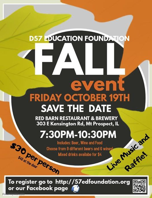 D57 Education Foundation Fall Event at The Red Barn