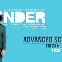 Wonder Advance Screenings