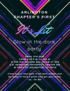 Its Lit - Glow in the Dark Party