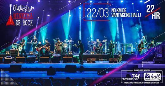 Orquestra Mineira de Rock Ao Vivo no KM de Vantagens Hall