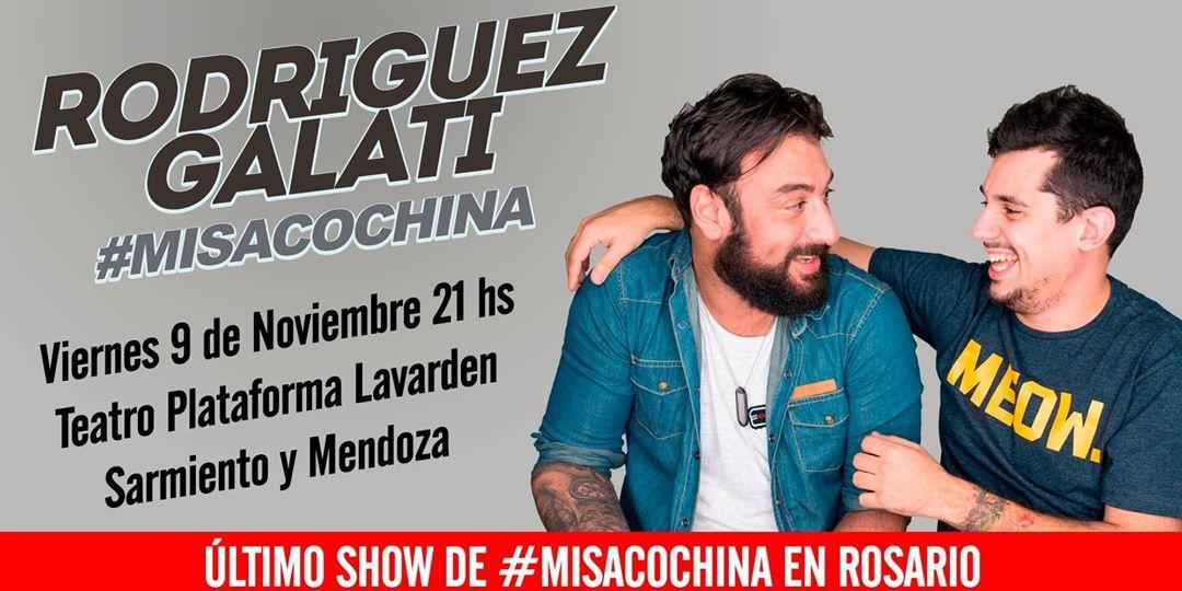 Rodriguez Galati MisaCochina en Rosario