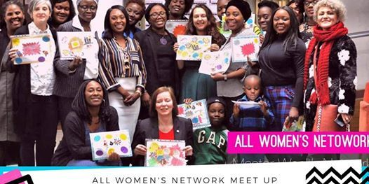 All Womens Network THE BIG VISION BOARD GET TOGETHER