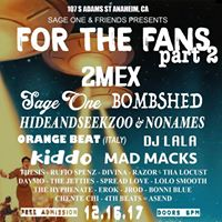 For the Fans 2 - A Hip Hop Toy Drive