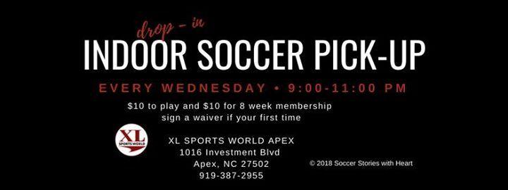 Xl Sports Apex >> Adult Soccer Pickup At Xl Sports World Apex Carolina