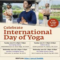 Free Yoga Session Ellicott City