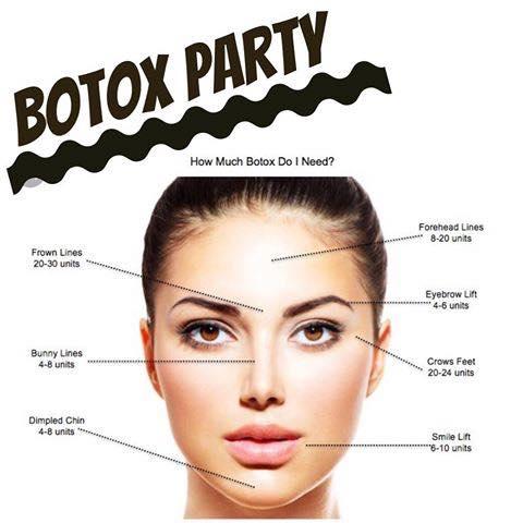 Salon Adairs Holiday Botox Party Carlsbad
