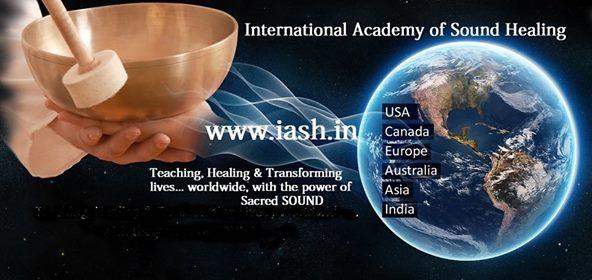 Sound The Ultimate Medicine IASH Professional Level 2 Workshop