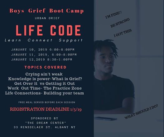 Life Code Boys Grief Boot Camp
