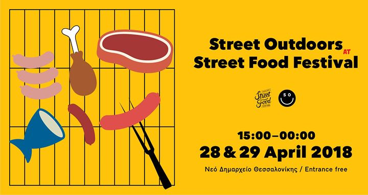 Street Outdoors at Street Food Festival