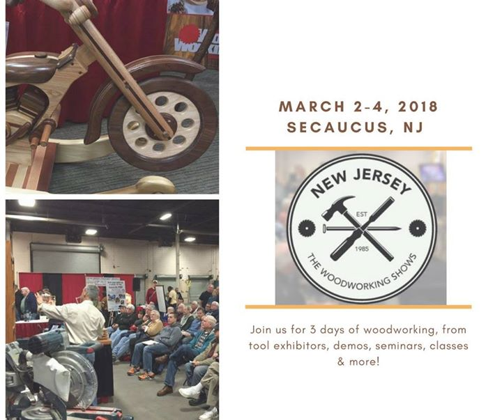 New Jersey Woodworking Show At Meadowlands Exposition Center Secaucus