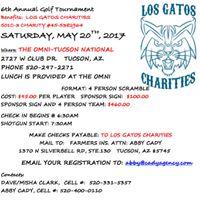 Los Gatos Charities 6th Annual Golf Tournament