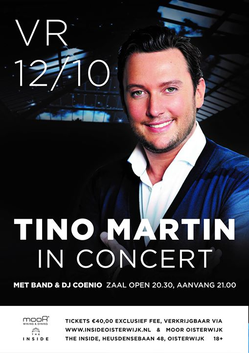 Tino Martin in concert