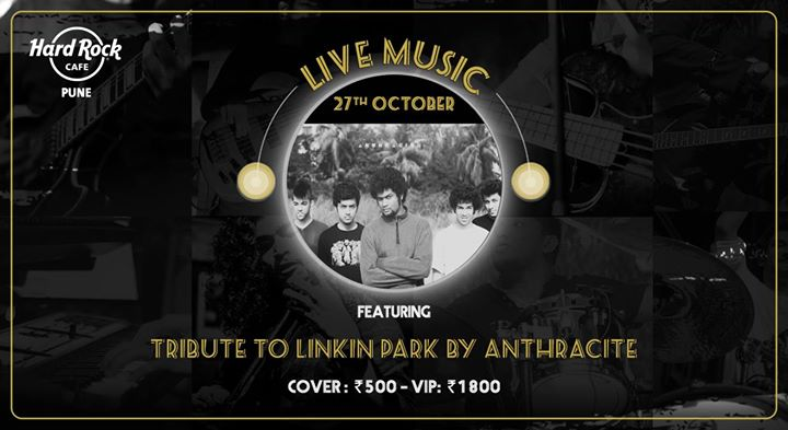 Tribute to Linkin Park by Anthracite - Live Music