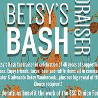 Betsys Bash  A Pro-Choice Fundraiser
