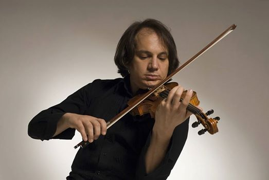 Luca Ciarla Master Class classical trained string player improv.