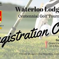 Waterloo Lodge Centennial Golf Tournament