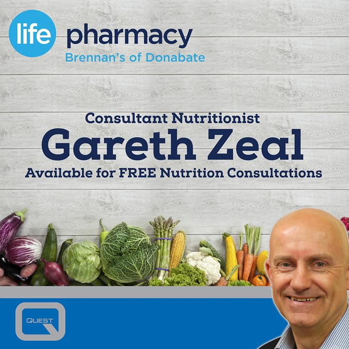 Free Nutrition Consultations with Gareth Zeal