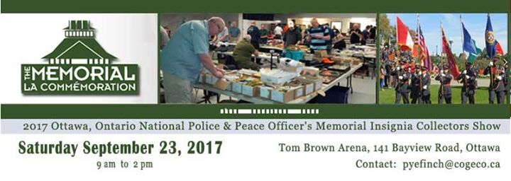 National PolicePeace Officers Memorial Insignia Collectors Show
