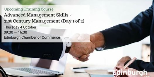 Advanced Management Skills - 21st Century Management (Day 1 of 2)