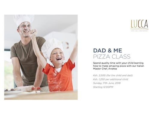 Dad & Me Pizza Class