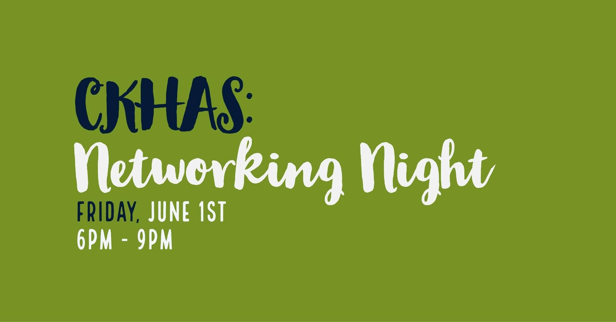 CKHAS Health Professional Networking Event