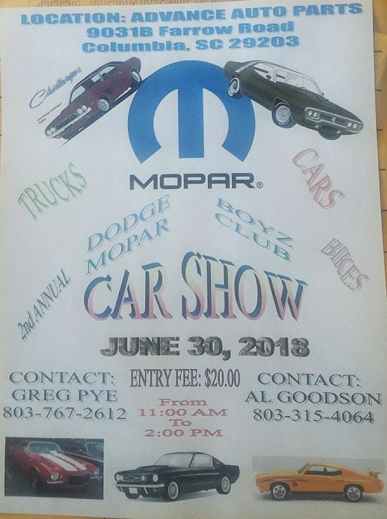 Dodge Boyz 2nd Annual Car Show