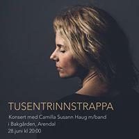 Camilla Susann Haug mband i Bakgrden Arendal